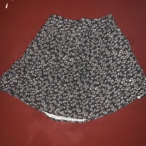 Cooperative Floral Skirt
